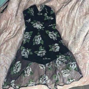 Pants - Floral dress romper